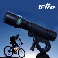 Ifire 813 bicycle lamp ride mountain bike headlight focusers rear light