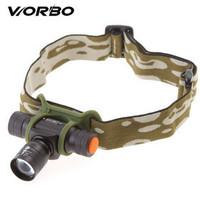 Worbo metal variofocus waterproof headlight glare waterproof charge set