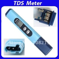 Wholesale -LCD TDS test pen, Water Quality test 0-9990 ppm, PH Test meter