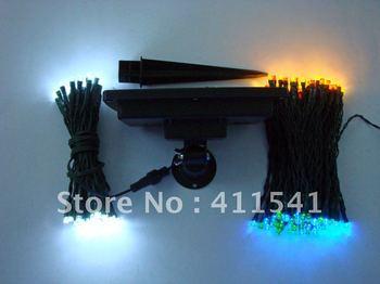 led solar string 200PC/22M ,blue color solar string