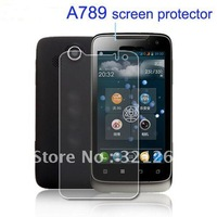 High Quality For lenovo A789 Screen cover Protector film protection with retail packing Free Shipping