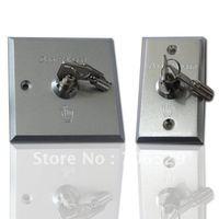 Aluminium alloy emergency switch lock with key via Surface waterproof and anti-copy key
