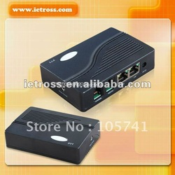 RoIP102 for voice communication between voip,radio and gsm network,RoIP with One PTT Port Cross Network Gateway(China (Mainland))