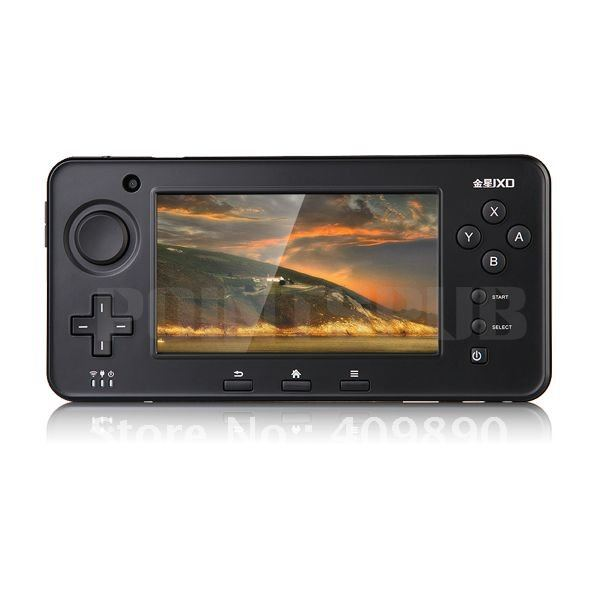 "Free shipping S603 4.3"" Touch Screen 4GB Game Tablet Console MP3 Video Player TV-OUT Camera(China (Mainland))"