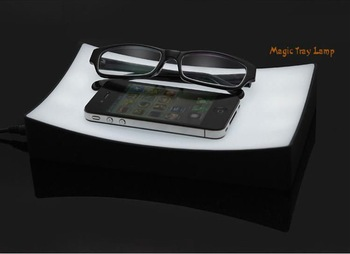 Magic Tray Lamp LED Intelligent Bedside Lamp Sensor Night Light Desk Lamp
