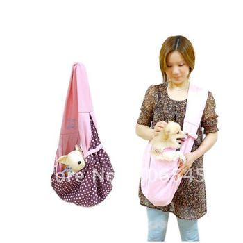 Pet Dog Cat Comfortable Sling Carrier Pouch Travel Traveler Tote Bag Handbag