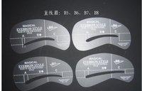 New eyebrow stencil A1,A2,A3,A4.A5A6A7A8 .B1B2B3B4.B5B6B7B8.C1C2C3C4.C5C6C7C8(4000pcs=1000set)1set=4pcs Free shipping