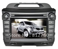Kia sportage 2010 2011 Android car dvd player with GPS/bluetooth/Radio/RDS/IPOD/Wifi/ 3G optional/free installed map