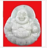 "Burma jade laughing Buddha maitreya, """" hang"