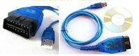 Free shipping Wholesale---USB Cable Car Diagnose tool KKL VAG 409.1 OBD2 OBDII COM Scanner