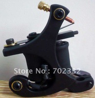 Professional Cast Iron Wire-cutting Tattoo Machine gun  supply 8 Wrap Coils For Liner FREE SHIPPING