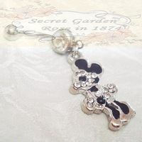Xmas Accessories piercing body Jewelry Romantic RS0054 10Pcs/lot Vintage fashion lovely mickey Navel Bell Button Ring