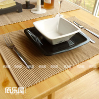 Кухонная салфетка Rice brown Table cloths Cotton placemats/Minimalist modern cotton placemat/The Cloth European table mat 1pc