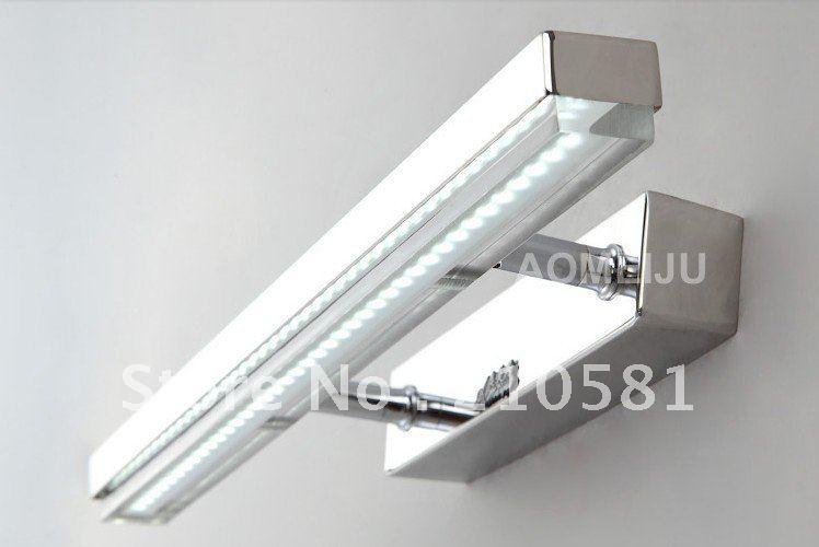 10w led bathroom lights stainless steel led mirror lights