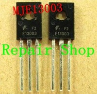 Free Shipping  MJE13003 E13003-2 E13003  Transistor 13003 Diodes Transistor to-126  50PCS/LOT NEW and original   in stock