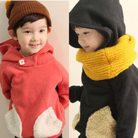 Брюки для девочек piece 2012 child male female double layer thickening warm pants winter clip jeans
