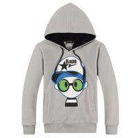 New fashion style men pullover cartoon cotton sweatshirt,fashion hoodies for men,free shipping LJ233