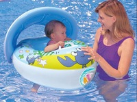 Retailing Min.order is $15 (mix order)  ZH-1561 Safe Swimming Ring for Baby Bath Neck Float Peng crab boat