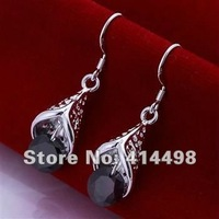 LQ-E208 Free shipping wholesale 925 silver earrings, 925 sterling silver jewelry, fashion jewelry earring anxa jfea rwna