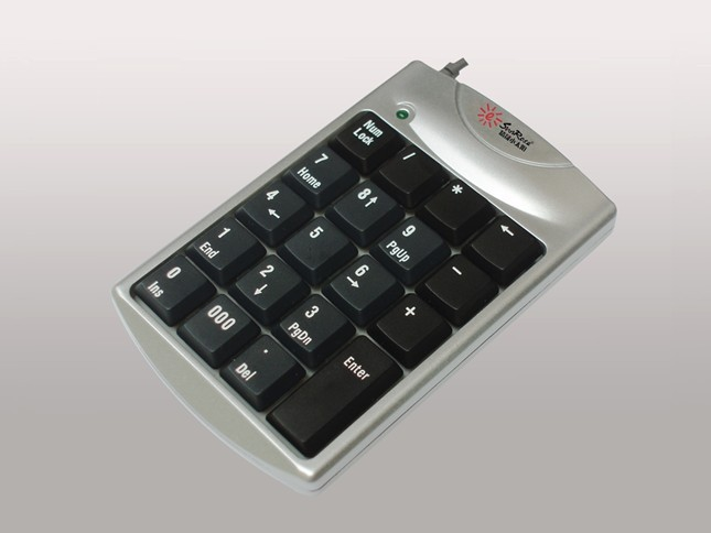 K29b unique key digital keyboard ultra-thin small numeric keypad(China (Mainland))