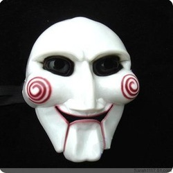 The movie SAW mask at the Halloween April fool's day funny mask(China (Mainland))