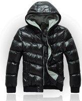 2012 new arrival winter men jacket/brand down jacket/Korean hoodies jacket+free shipping