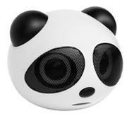 Novelty Panda Shaped USB Rechargeable MP3 Music Speaker Mini Audio Box - Four colors(SD/USB)