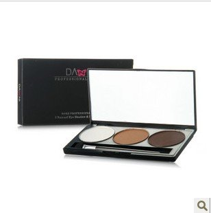 New Sexy 3 color eyeshadow  palette  with Brush and Mirror freeshipping