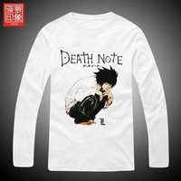 Dota Death Note t-shirt L classic nostalgia cotton personalized men's long-sleeved t-shirt clothes