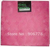 baby pink color  Hayes swiss net head tie with different colors and designs