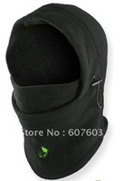 2014 new 2014 Thermal FLEECE 6 in 1 BALACLAVA HOOD POLICE SWAT SKI MASK Black