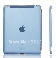 FOR The new ipad2 ipad3 ipad 2 3 4 slim 0.9mm back cover Rubberized hard case protective compatible smart cover free shipping