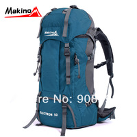 freeshipping sport outdoor mountaineering bag 50l backpack general
