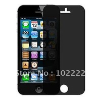 Privacy Anti-spy Screen Protector Guard Shield Film for Apple iPhone 5 5G, 200pcs/lot, DHL Free Shipping