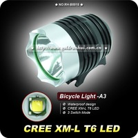 70% off DHL Ship + 3Sets XM-L T6 Bicycle Light CREE T6 1200Lm Waterproof Headlamp + 8.4v 4400mAh Battery Pack + Charger