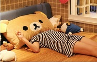 Home decoration plush toys  pillow single style size33*65cm factory supply nice gift