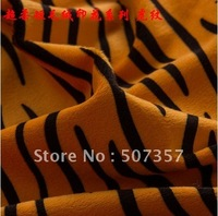 2012 Wholesale Chaorou short plush fabrics / animal stripes tiger leopard print fabric