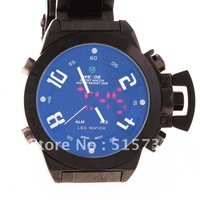 WH-1008 30m Water-Resistant Diving Sports LED Watch