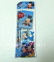 Free Shipping.Wholesale Fashion Cartoon the newest suit MICKEY MOUSE pencil Stationery Variety of optional 30pcs/lot