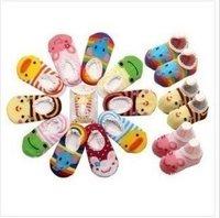 5pairs/lot, Hot sale, baby short socks, infant antislip socks, baby antiskid sock, baby wear freeshipping