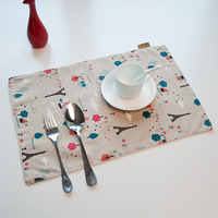 Кухонная салфетка PVC placemat the Coaster / fashion stripes / waterproof disc pads / bags / heat pad / pad an environmental