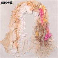 S282 new design chiffon muslim long scarf,free shipping