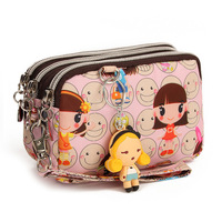 Female bags 2012 HARAJUKU doll casual cartoon clutch female