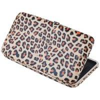 Women Girl Leopard Clutch ID Card Holder Wallet Case Bag Purse Wedding Party