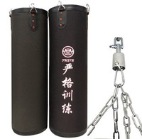 Free shipping& Punch bag kung fu Martial arts wall bag kick boxing Striking bag&Hollow& Thickening&80CM &Black colour