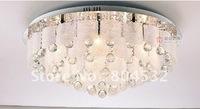 led ceiling light dia 60cm  modern  fashion crystal lamp restaurant lamp 2033+ Free shipping