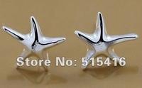 GY-PE071 Free shipping wholesale 925 silver earrings, 925 sterling silver jewelry, fashion jewelry earring aqua jiba rzka