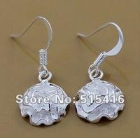 GY-PE107 Free shipping wholesale 925 silver earrings, 925 sterling silver jewelry, fashion jewelry earring aola jfsa rxba