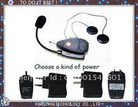 Free Shipping wireless communication Bluetooth Motorcycle 100m Talking Range Helmet Intercom