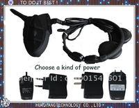 Wireless Bluetooth Multi-user Motorcycle Helmet Intercom Headset 2000m Talk Range Bone Conduction Microphone